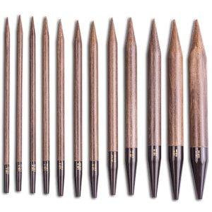 LYKKE / Спицы / Разъемные спицы / длина 11.5 см / цвет Umber