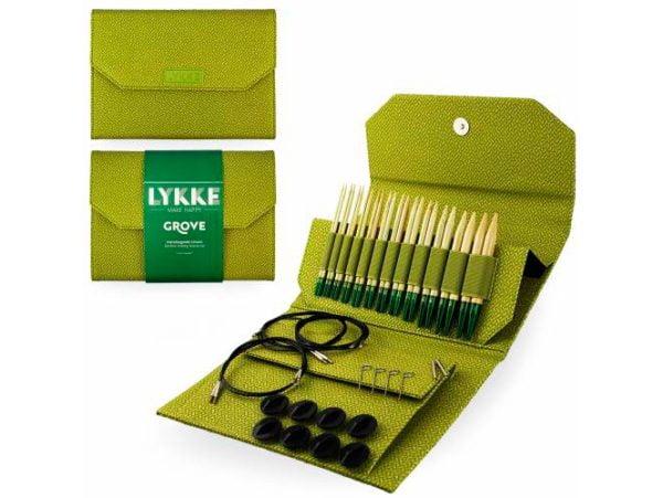 LYKKE / Набор спиц  / длина 11.5 см / цвет  Grove Green