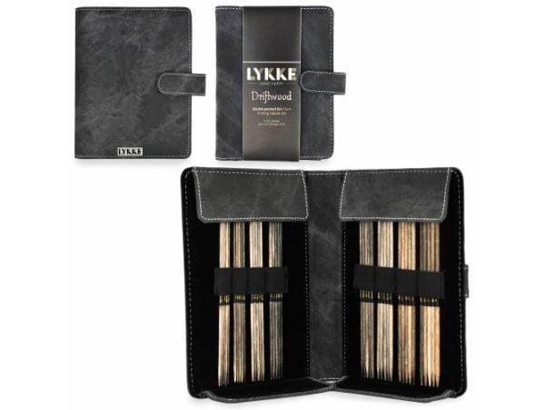 LYKKE / Набор чулочных спиц  / длина 15.0 см / цвет Driftwood