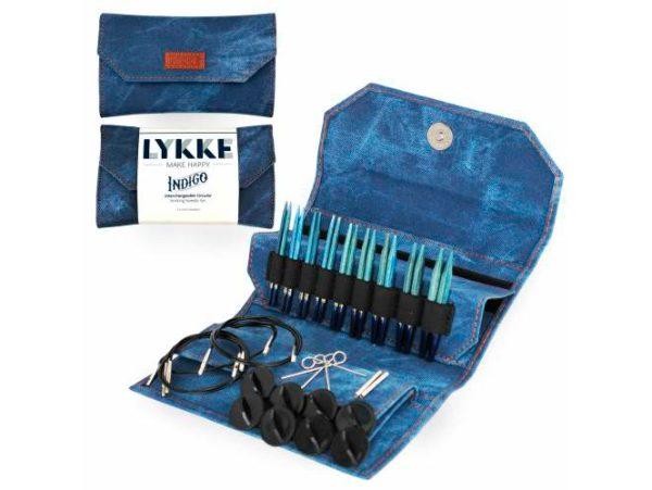 LYKKE / Набор спиц  / длина 7.0 см / цвет Indigo