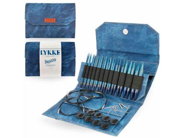 LYKKE / Набор спиц  / длина 11.5 см / цвет  Indigo