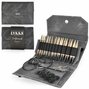LYKKE / Набор спиц  / длина 11.5 см / цвет  Driftwood