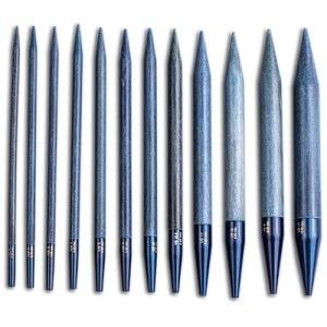 LYKKE / Спицы / Разъемные спицы / длина 11.5 см / цвет Indigo